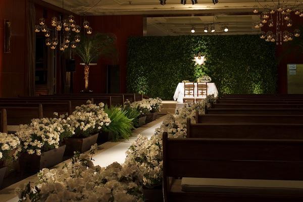 decoracao branca casamento:Branca Chique Simples