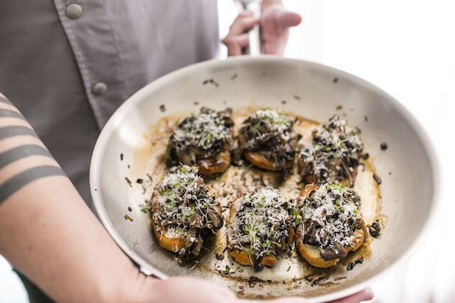 Bruschetta de Cogumelos por L'Espai Banqueteria_0