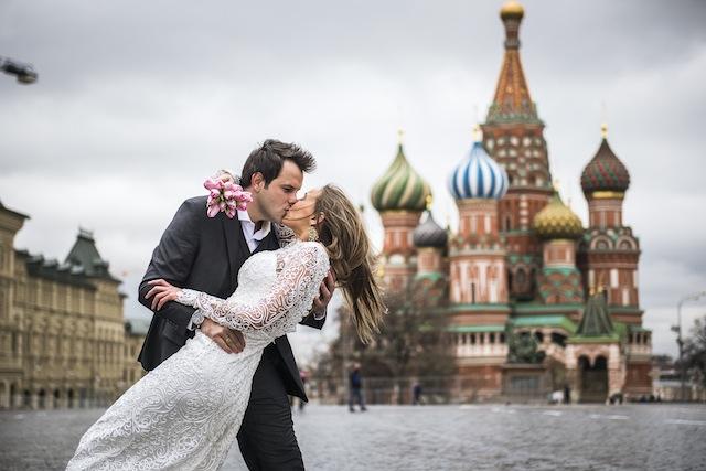 Ensaio de Noivos Moscou-25