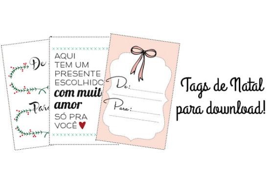 Download Tags De Natal Vestida De Noiva Blog De Casamento