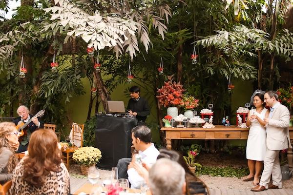 Casamento Com Flores Tropicais Mary Gabriel Vestida De