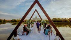 casamento lago
